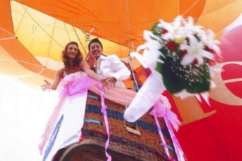 Matrimonio Tema Mongolfiera : Matrimonio all americana the wedding italia