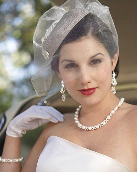 Cappellino con veletta per la sposa The Wedding Italia f0e0c137795a