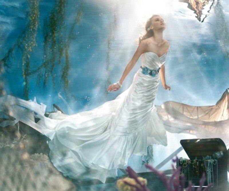 256cb3458642 Vestiti da sposa Disney  come una favola! The Wedding Italia