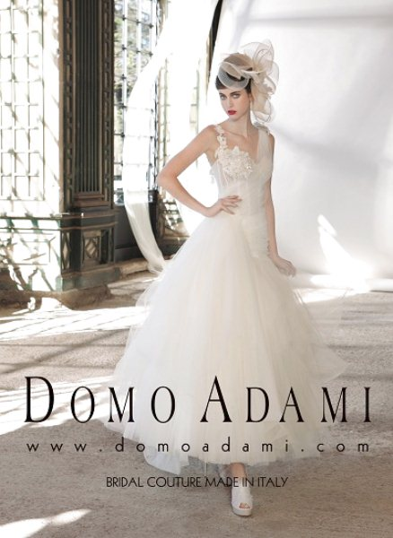 Domo Adami bridal Couture Made in Italy
