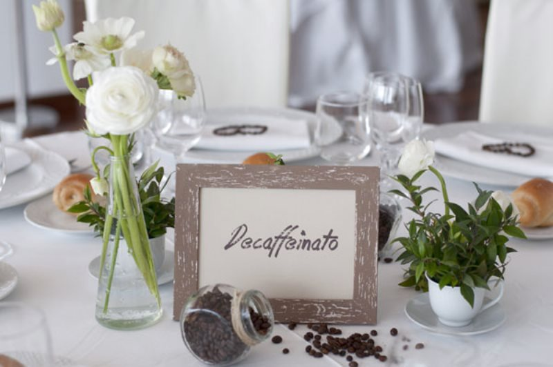Matrimonio Tema Arte : Matrimonio al caffè un tema quot aromatico per le nozze