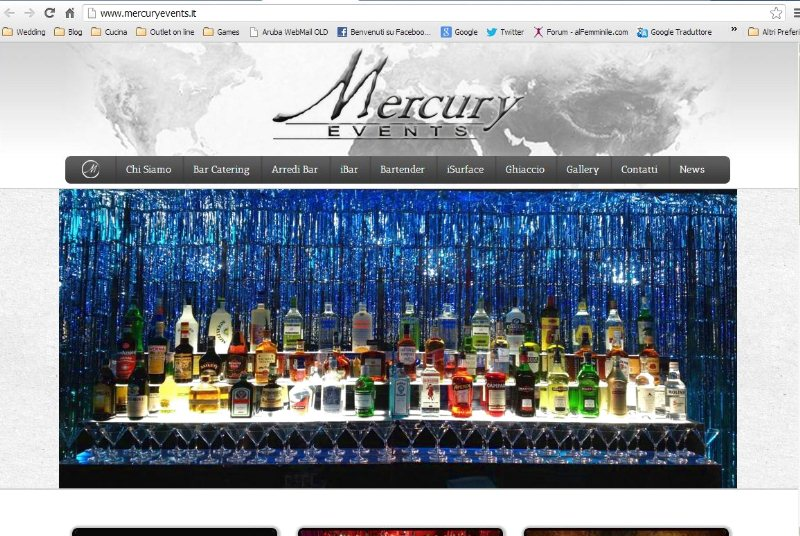 Mercury Events open bar