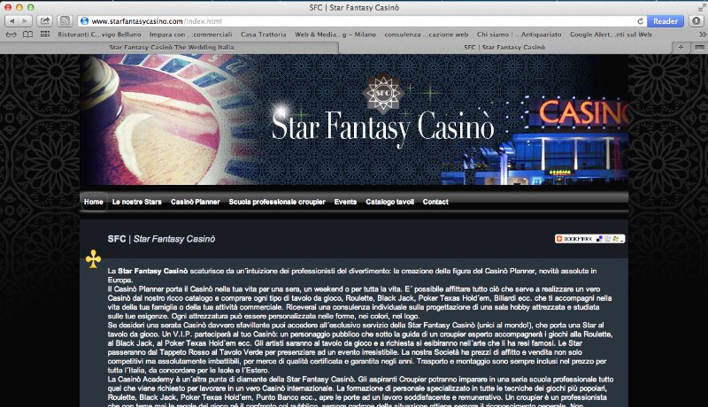 Star Fantasy Casinò intrattenimento
