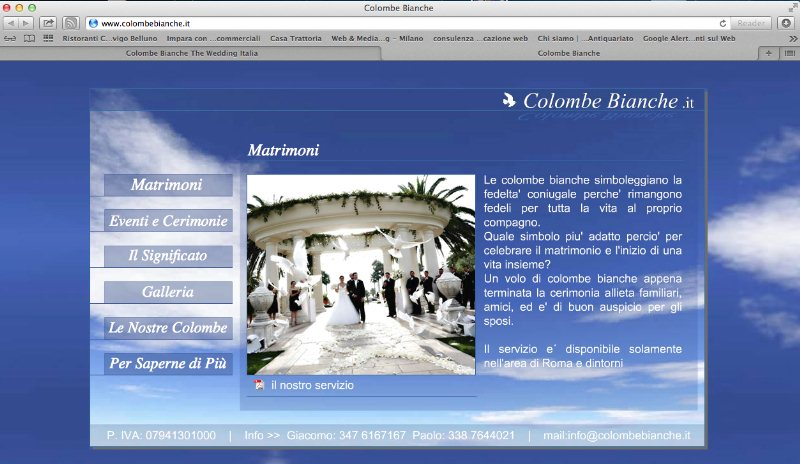Colombe Bianche