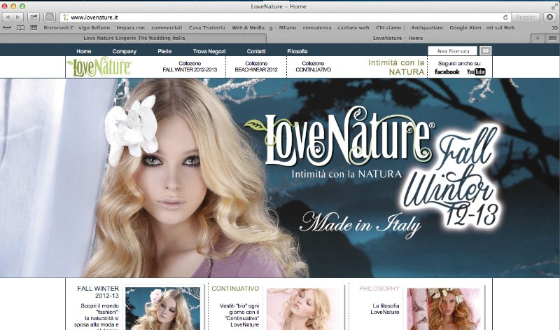 Love Nature Lingerie eco