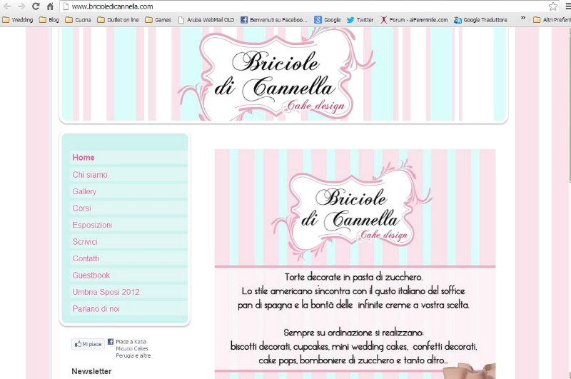 Briciole di Cannella Wedding Cakes