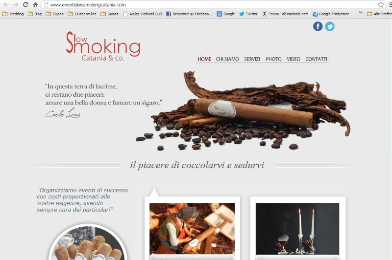 Slow Smoking langolo del sigaro