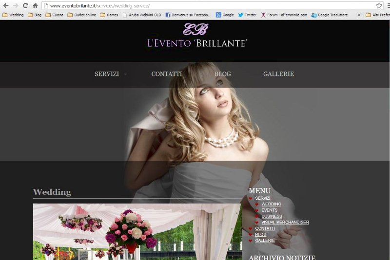 LEvento Brillante wedding planner