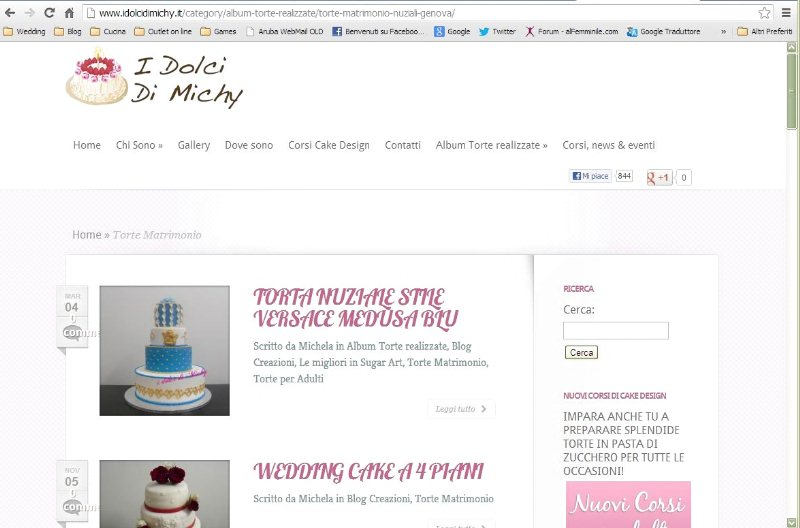 I dolci di Miky Wedding Cakes