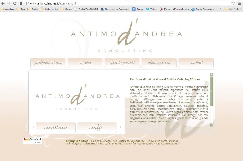 ANTIMO DANDREACatering Milano