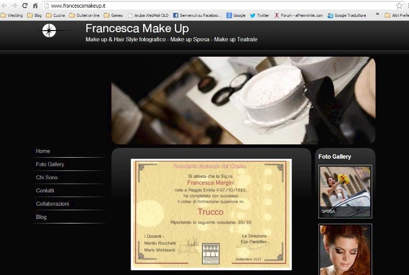 Francesca Margini Make Up Artist Consulente Immagine