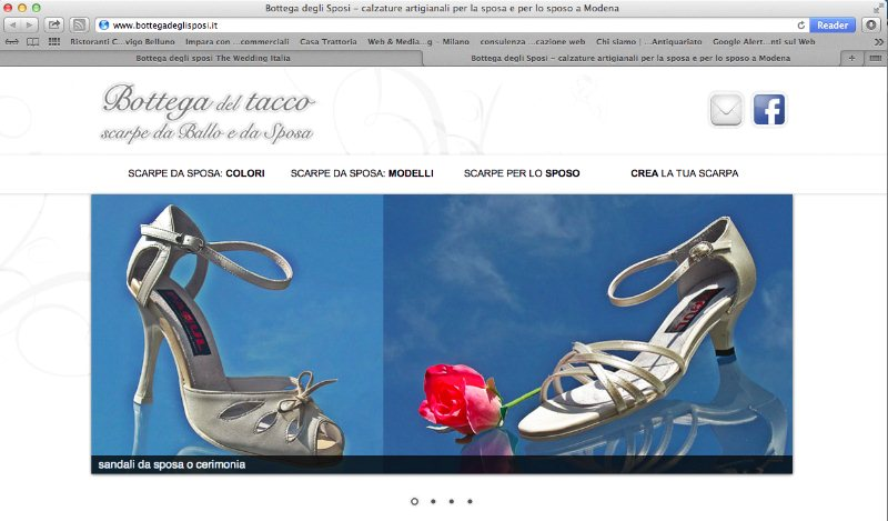 Scarpe Sposa Modena.Bottega Degli Sposi Calzature The Wedding Italia Modena Modena